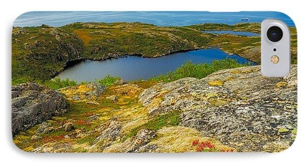 Beyond The Arctic Circle IPhone Case