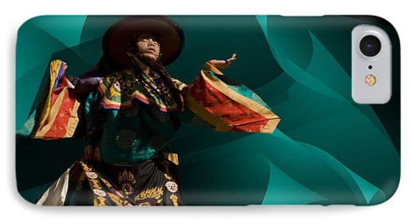 Bhutanese Festival IPhone Case