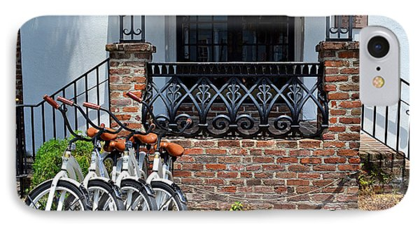 Bicycles In Charleston IPhone Case