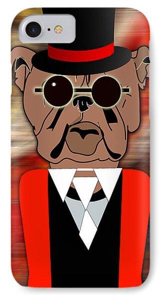 Big Bull Dog IPhone Case
