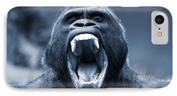 Big Gorilla Yawn IPhone Case