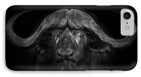 Africa iPhone 8 Case - Big Horns by Mario Moreno