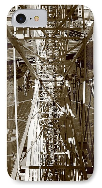 Darling Harbour Big Wheel.  IPhone Case