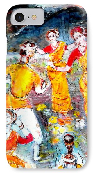 Bihu Dance IPhone Case