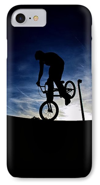 Bike Silhouette IPhone Case