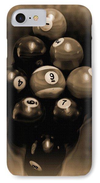 Billiards Art - Your Break - Bw Opal IPhone Case