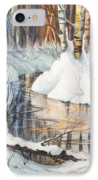 Birch Trio II IPhone Case