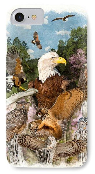 Birds Of Prey IPhone Case