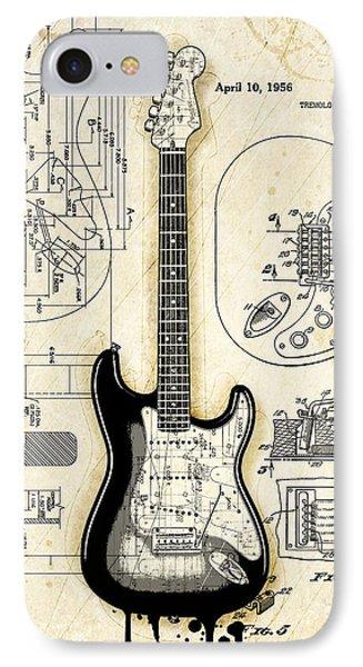 Fender Strat Birth Certificate IPhone Case
