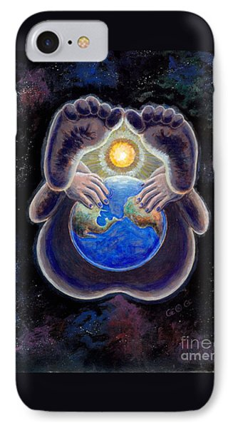 Birth Of The Earth IPhone Case