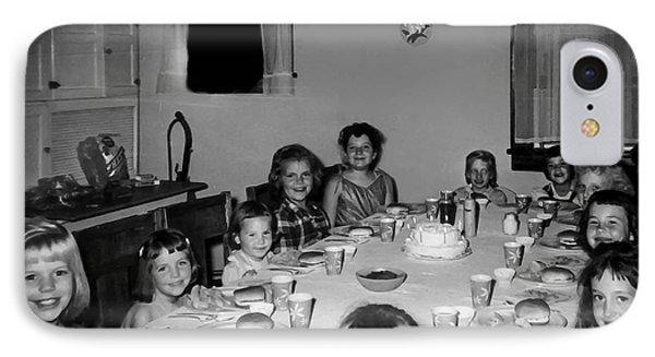 Birthday Party Table Grove Illinois 1957 IPhone Case