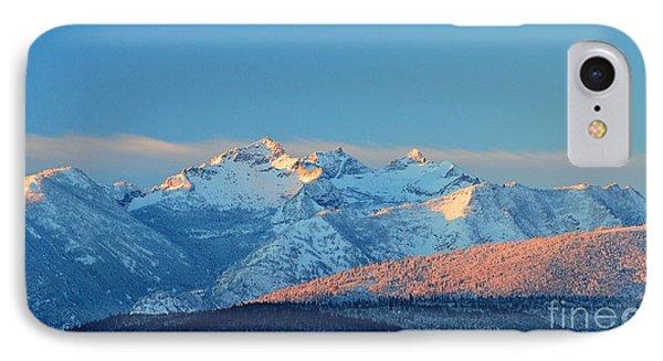 Bitterroot Mountain Morning IPhone Case
