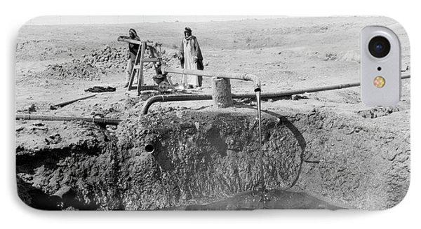 Bitumen Well In Iraq IPhone Case