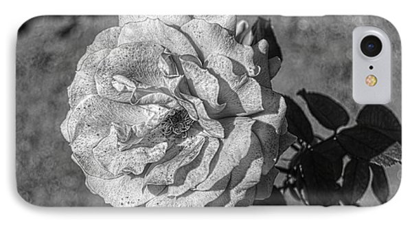 Black And White Flower #2 IPhone Case