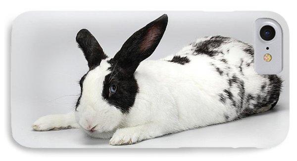 Black And White Pet Rabbi IPhone Case