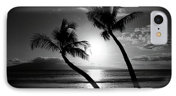 Black And White Tropical IPhone Case