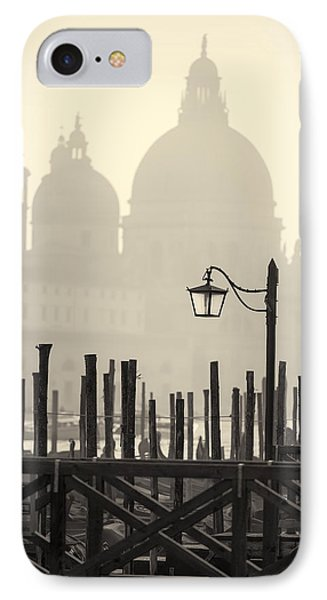 Black And White View Of Venice IPhone Case
