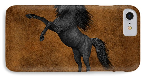 Black Beauty IPhone Case