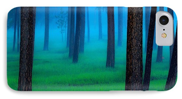 Beautiful Nature iPhone 8 Case - The Black Hills Forest by Kadek Susanto