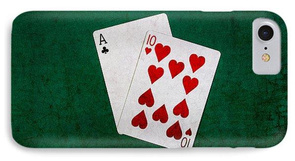 Blackjack Twenty One 1 IPhone Case