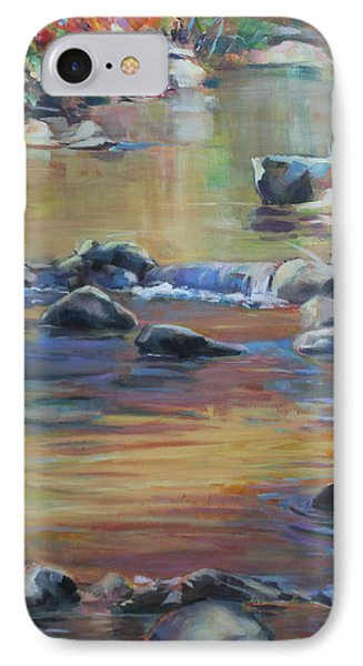 Blackwater River In Autumn IPhone Case