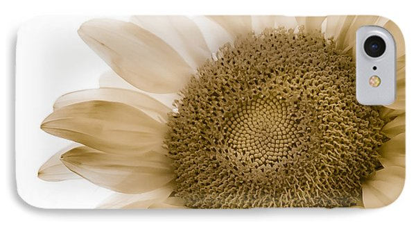 Bleached Sunflower IPhone Case