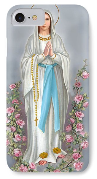 Blessed Virgin IPhone Case