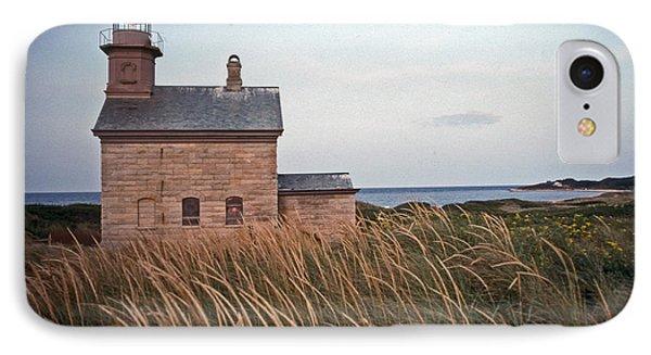 Block Island North West Lighthouse IPhone Case
