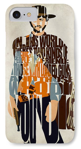 Blondie Poster From The Good The Bad And The Ugly IPhone Case