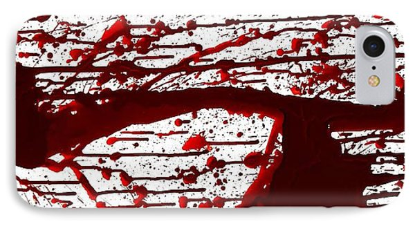 Blood Spatter Series IPhone Case
