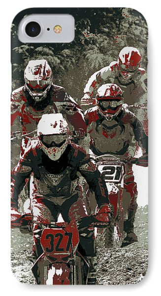 Blood Sweat And Dirt IPhone Case