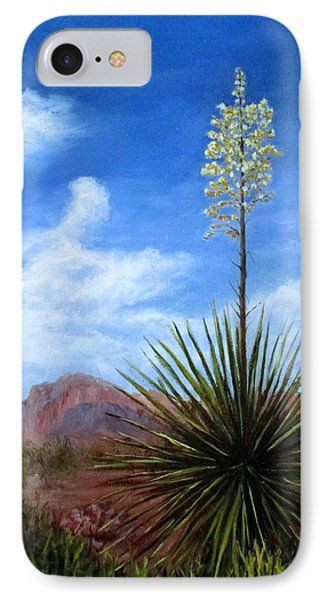Blooming Yucca IPhone Case