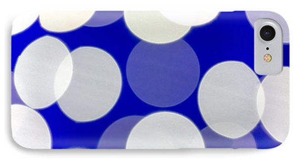Blue And White Light IPhone Case