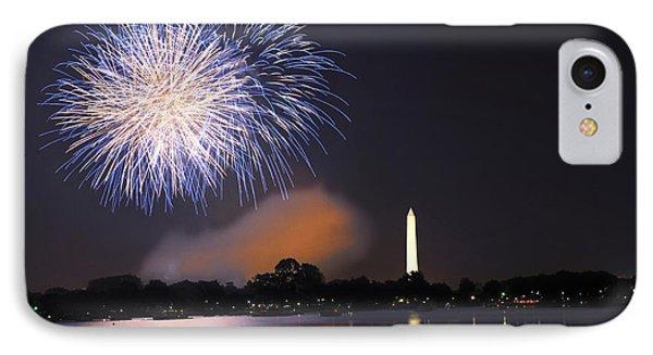 Blue And White O'er Washington D.c. IPhone Case