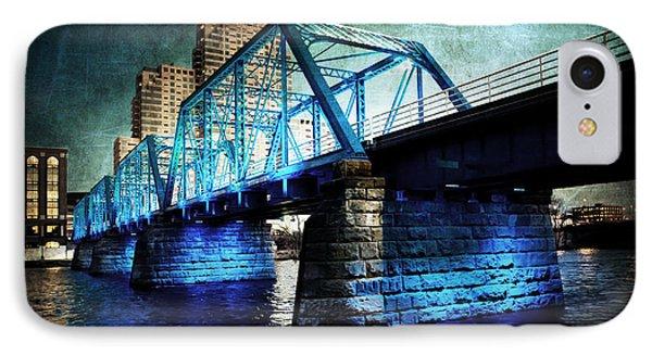 Blue Bridge IPhone Case