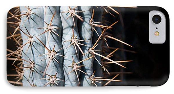 Blue Cactus IPhone Case