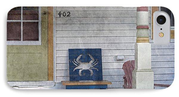 Blue Crab Chair IPhone Case