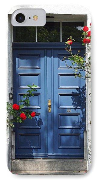 Blue Door IPhone Case