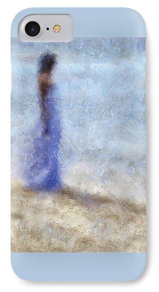 Blue Dream. Impressionism IPhone Case