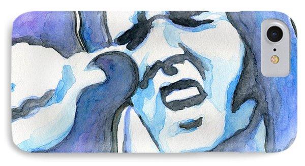 Blue Elvis IPhone Case