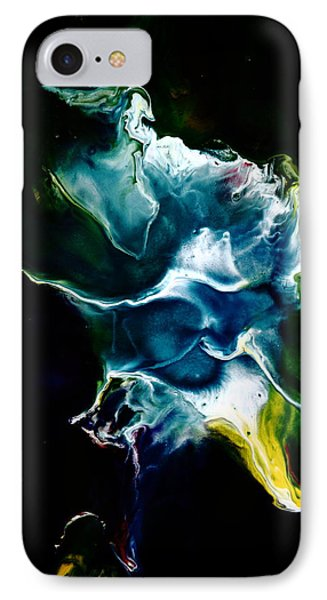 Blue Firefly Abstract IPhone Case