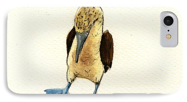 Blue Footed Booby IPhone Case