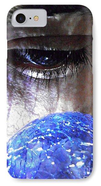 Blue Glass World IPhone Case