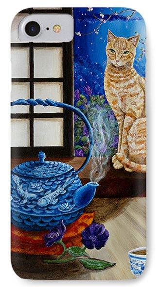 Blue Moon Tea IPhone Case