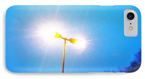 Blue Morning - Bright Beam Of Light IPhone Case