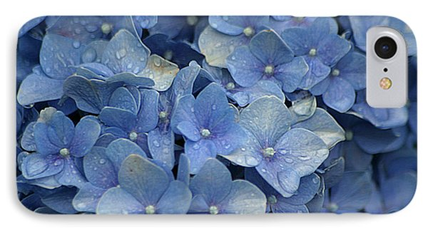 Blue Over You With Tears IPhone Case