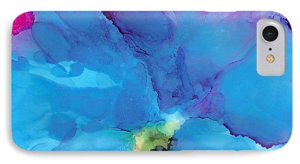 Blue Poppy IPhone Case