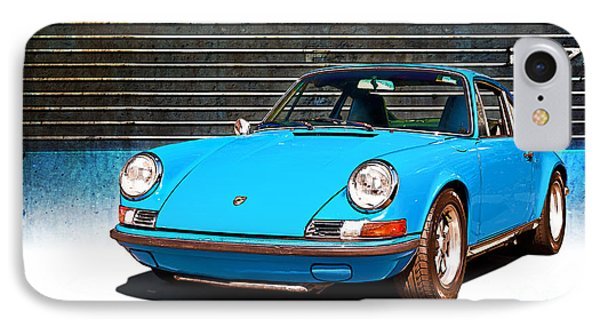 Blue Porsche 911 IPhone Case