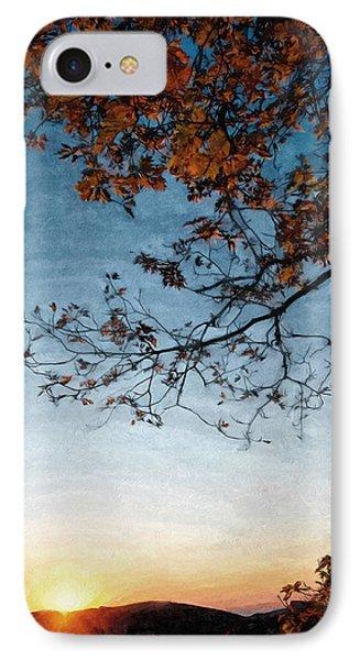 Blue Ridge Mountail Fall IPhone Case