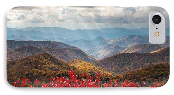 Blue Ridge Parkway Fall Foliage - The Light IPhone Case